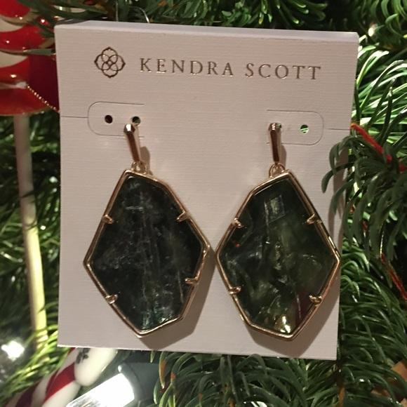 NWT - Kendra Scott Sage Mica Earings